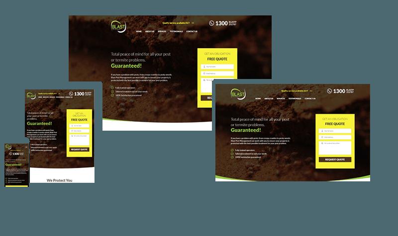 blast pest control portfolio